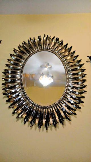 Espejo tipo sol vintage