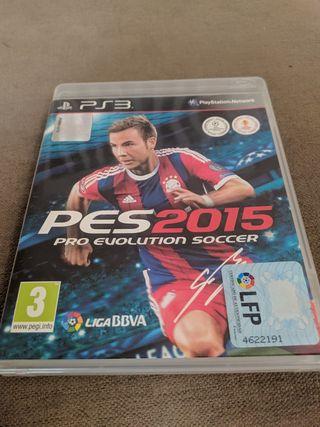 Juego PS3 PES 2015