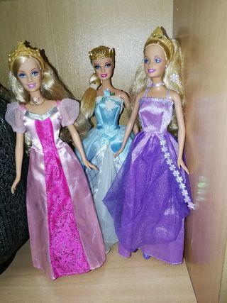 Princesas Barbie.