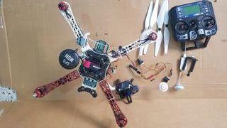 Dron f450 fpv y gimbal