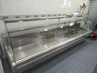 vitrina frigorífica expositora 3 metros y medio