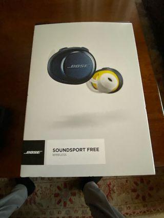 Auriculares wireless soundsport free BOSÉ