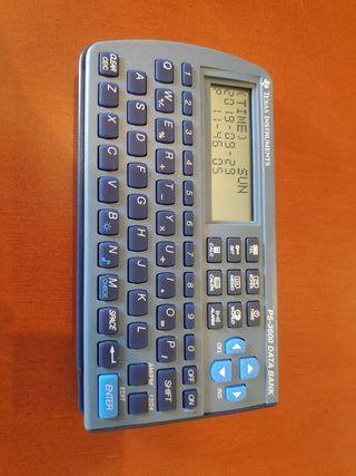 calculadora Texas Instruments PS-3600 data bank