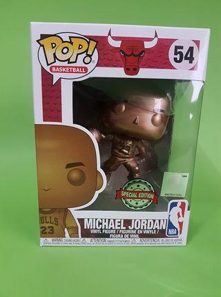 Michael Jordan Bronce Funko Pop Bastketball 54