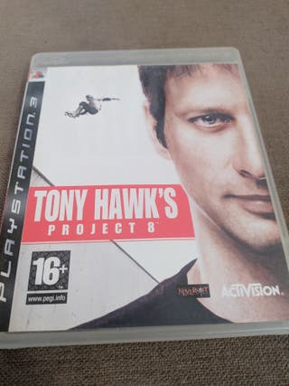 Juego PS3 Tony Hawks proyect 8