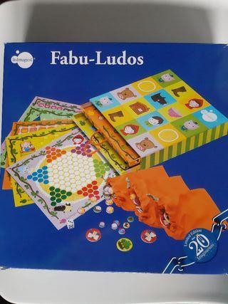 """Juegos Reunidos """"FABU-LUDOS"""" a partir de 5 años"""