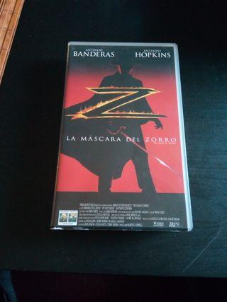 VHS LA máscara del zorro