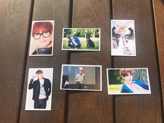 6 Photocards BTS - Kim Taehyung - V