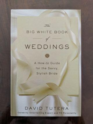 Libro David Tutera The Big White Book of Weddings