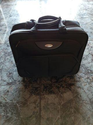maleta de portátil samsonite con ruedas!!