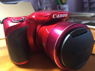 Cámara CANON PowerShot SX410 IS roja