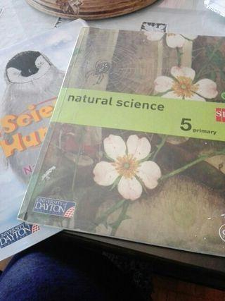 libro natural science SM,5° primaria
