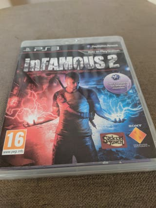 Juego PS3 Infamous 2