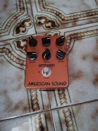 pedal de guitarra ammoon