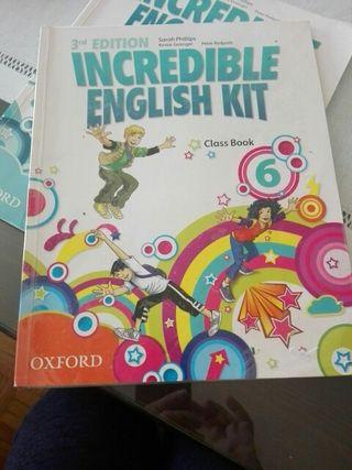 libro inglés Oxford 6°primaria