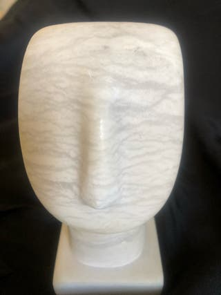 Estatua cicládica: ROSTRO HUMANO