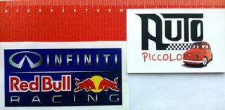 PEGATINA VINILO STICKER RED BULL INFINITI F1