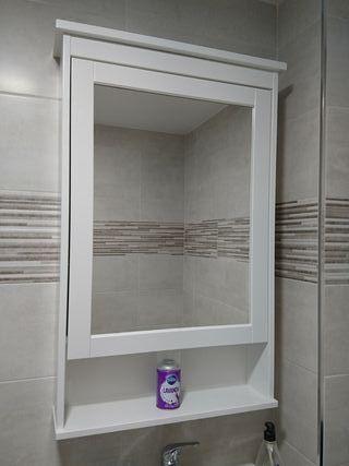 Espejo pared con puerta