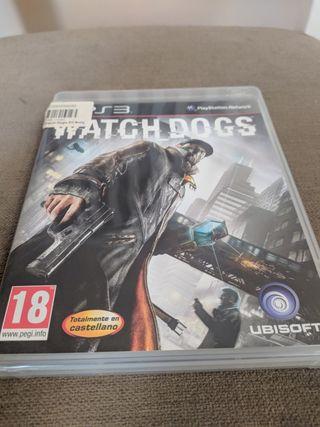 Juego PS3 Watchdog