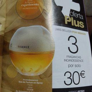 lote 3 perfumes