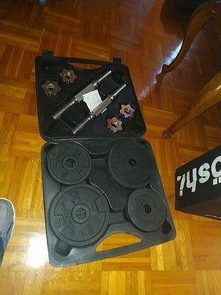 kit de pesas