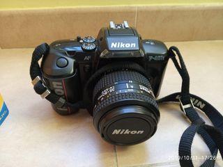 Nikon F401X Con Objetivo