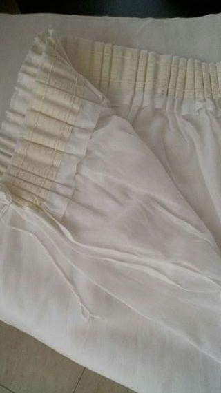 cortina hilo blancas