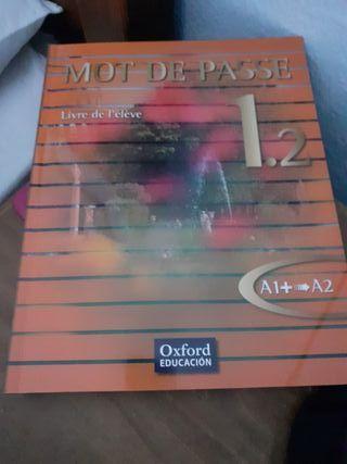 Libro francés mot de passe nuevo