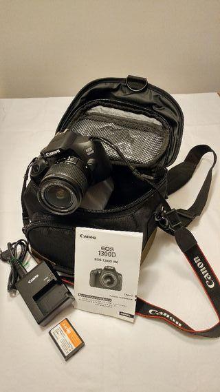 Vendo cámara de fotos digital Canon Eos 1300D
