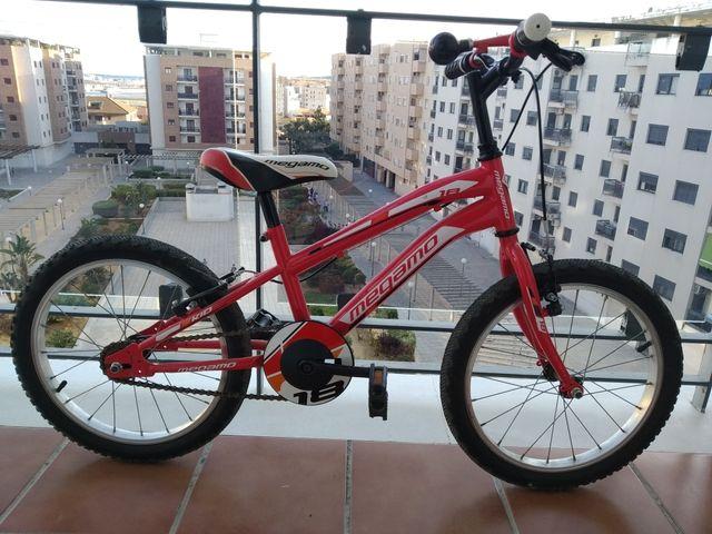 Bicicleta infantil Megamo