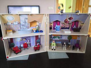 casa playmobil/casa portátil playmobil