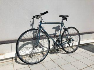 Bicicleta Peugeot con manillar de paseo