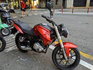 Motor Hispania NH7 LC 125cc