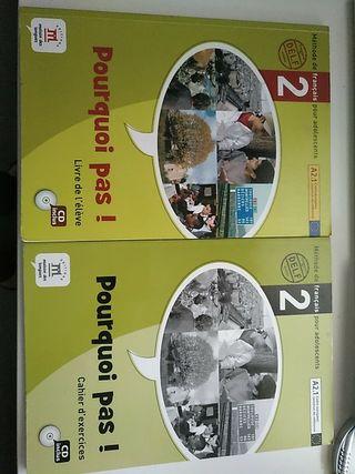 2 libros de Francès
