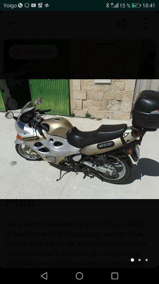 Suzuki 600 gsx f