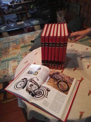 Enciclopedia de motos( Dos ruedas?