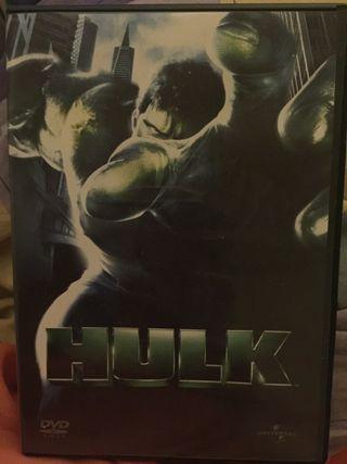 Película en dvd Hulk