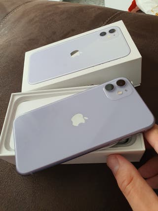 IPHONE 11 LILA 64 GB CON FACTURA Y GARANTIA