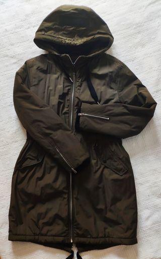 Chaquetón abrigo BERSHKA