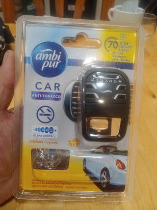 Ambientador AmbiPur Car Aparato+Recambio citricos