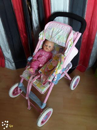 silla BABY BORN mochila regalo muñeca