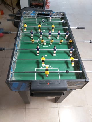 futbolín con más juegos