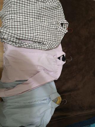 Set 3 Camisas. Pedro del hierro,hackket,zara