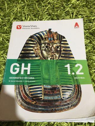 LIBROS 1ESO GEOGRAFIA Y HISTORIA I.E.S Alonso Q.