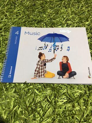 LIBRO DE MUSICA EN INGLES 4PRIMARIA