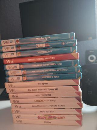 Nintendo wii U + accesorios y juegos
