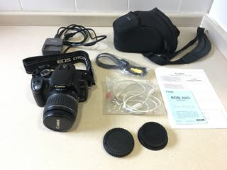 CANON EOS 350D + objetivo Canon 18-55 + funda