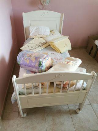 mini cama/ cuna grande