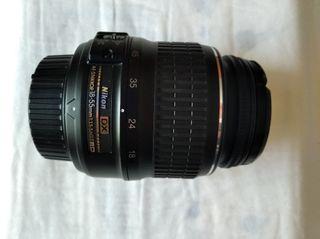 Lente Objetivo Nikon 18-500