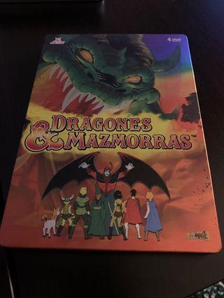 Dragones y Mazmorras edición metálica Steelbook